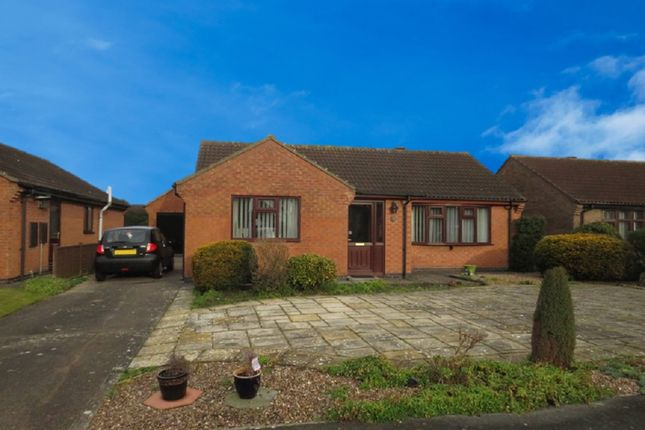 Thumbnail Detached bungalow for sale in Wells Drive, Market Rasen