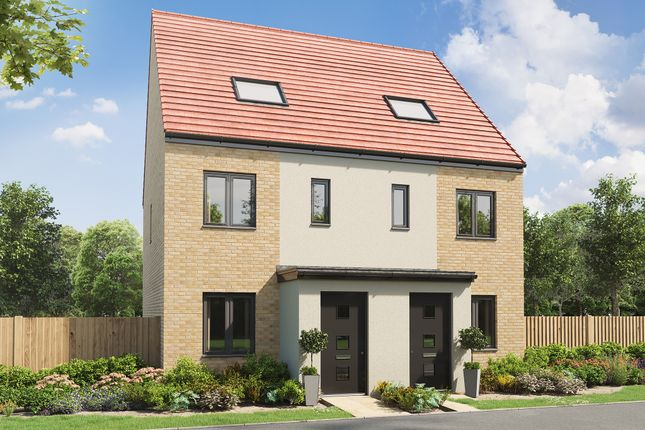 """3 bed end terrace house for sale in """"The Braunton"""" at Moor Drive, Wallsend NE28"""