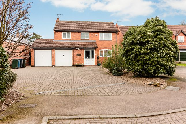 Thumbnail Detached house for sale in Cumberland Close, Nottingham