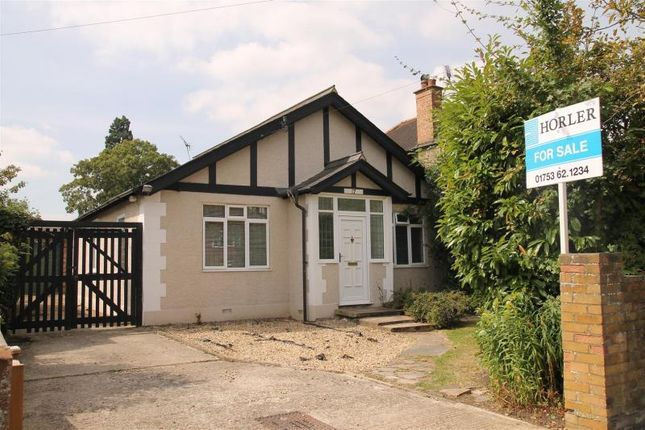 Thumbnail Bungalow for sale in Clewer Hill Road, Windsor