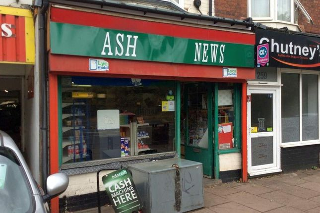 Thumbnail Retail premises for sale in Aylestone Road, Aylestone, Leicester