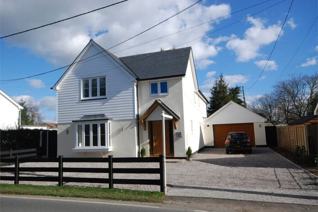 Thumbnail Detached house for sale in Warren Lane, Stanway, Essex