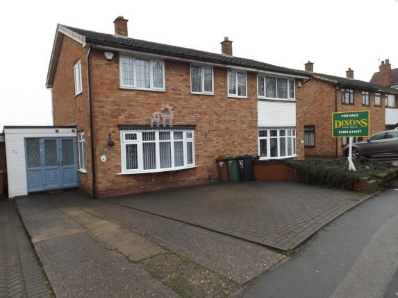 Thumbnail Semi-detached house for sale in Bentley Lane, Willenhall, West Midlands