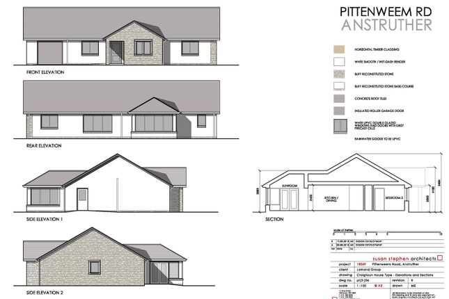 Thumbnail Detached bungalow for sale in Pittenweem Road, Anstruther