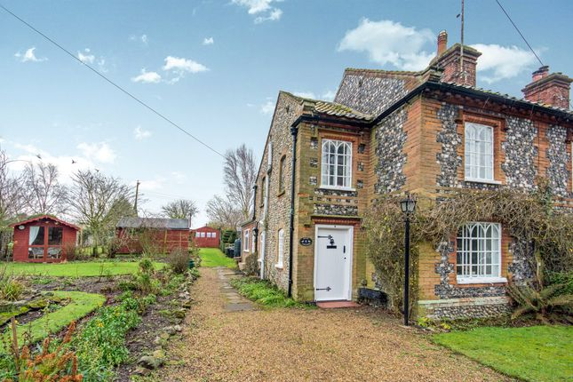 Thumbnail End terrace house for sale in Riverside Road, Letheringsett, Holt