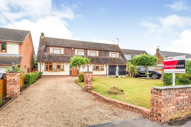Thumbnail Detached house for sale in Old Coach Road, Bishops Wood, Stafford, Staffordshire