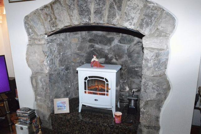 Fireplace To Lounge