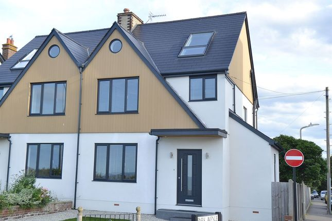 Thumbnail Semi-detached house for sale in Marine Parade, Tankerton, Whitstable