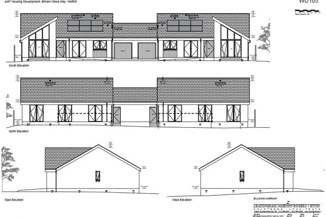 Thumbnail Detached bungalow for sale in Birnam Wood Way, Wolfhill, Perth