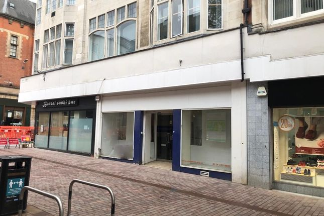 Thumbnail Retail premises to let in Hotel Street, Leicester