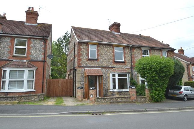 Thumbnail Semi-detached house to rent in Cross Lane, Andover