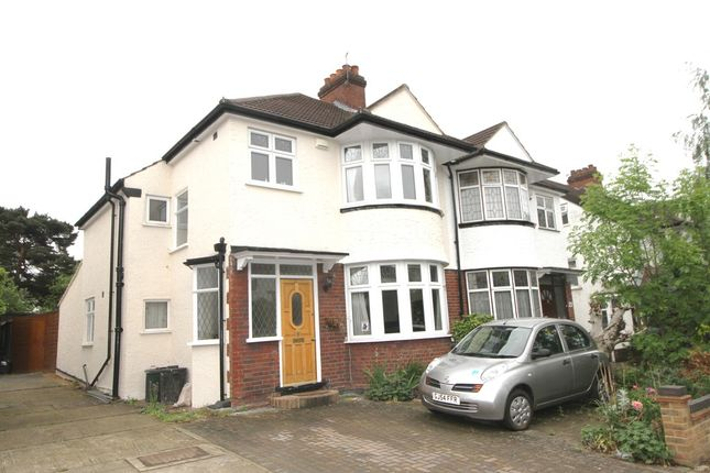 Thumbnail Semi-detached house for sale in Glenview Road, Bickley, Bromley