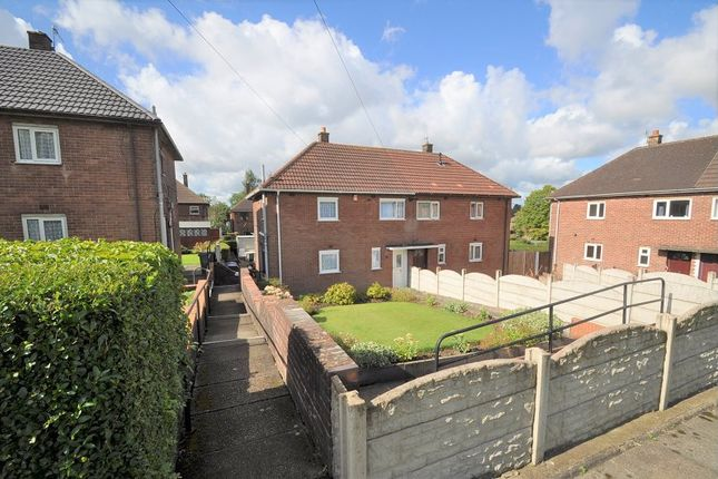 Thumbnail Semi-detached house for sale in Wellfield Road, Bentilee, Stoke-On-Trent
