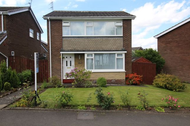 Thumbnail Detached house for sale in Greenway, Chapel Park, Newcastle Upon Tyne