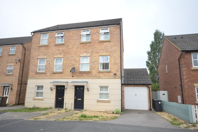 Thumbnail Semi-detached house to rent in Carlisle Close, Corby