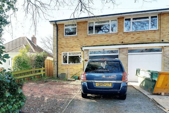 Thumbnail Semi-detached house for sale in Park Road, Chandlers Ford, Eastleigh