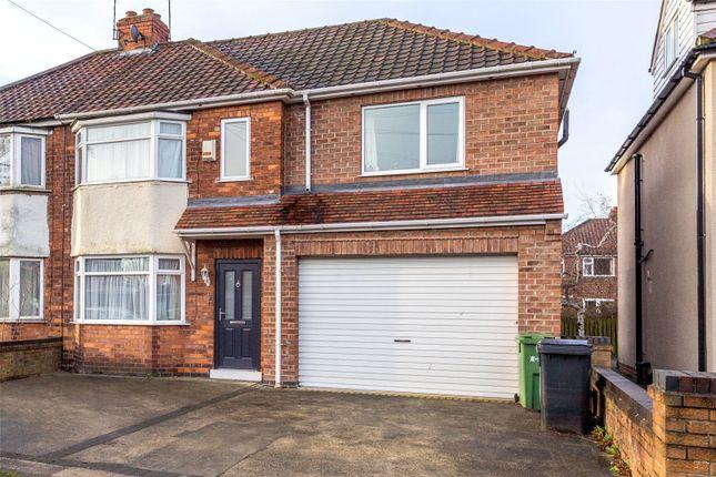 Thumbnail Semi-detached house to rent in Burnholme Grove, York