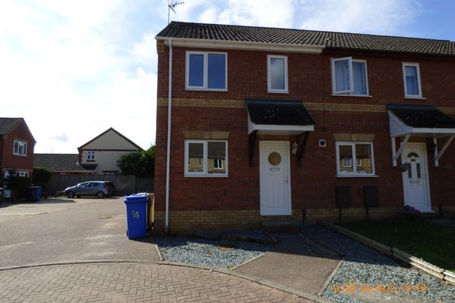 2 bed end terrace house to rent in Holly Close, Worlingham, Beccles NR34