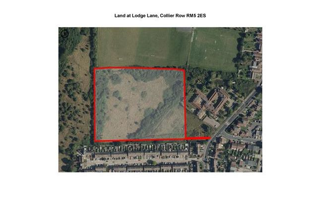 Thumbnail Land for sale in Land Off Lodge Lane, Collier Row, Romford