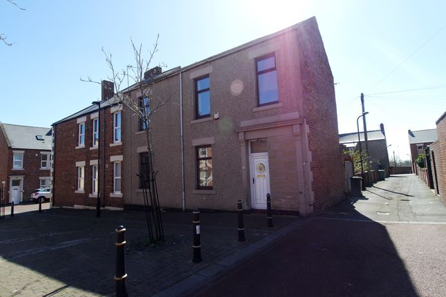 Thumbnail End terrace house to rent in Upper Elsdon Street, North Shields