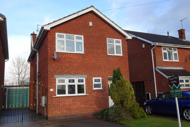Thumbnail Detached house for sale in The Crescent, Stanley Common, Ilkeston