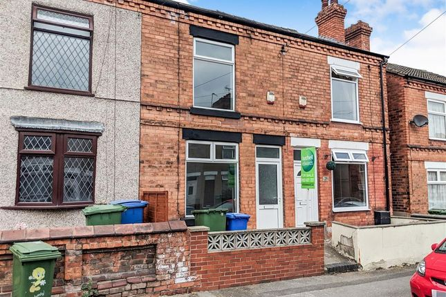 Thumbnail Terraced house to rent in Mount Street, Mansfield