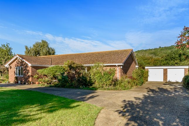 Thumbnail Detached bungalow for sale in West Hythe Road, West Hythe, Kent