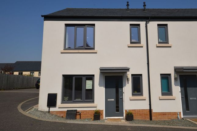 Thumbnail Semi-detached house to rent in Broom Park, Okehampton
