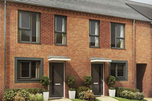 """Thumbnail Terraced house for sale in """"The Lutton"""" at Great Brickkiln Street, Wolverhampton"""