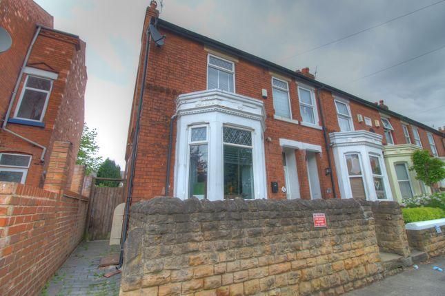 Thumbnail Semi-detached house for sale in Henrietta Street, Bulwell, Nottingham