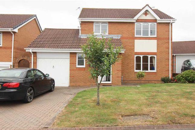 Thumbnail Detached house for sale in Castleton Close, Northburn Dale, Cramlington