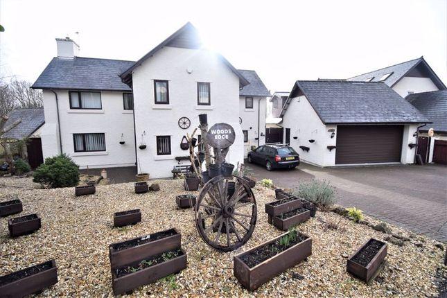 Thumbnail Detached house for sale in Woods Edge, Bryn Dryslwyn, Broadlands, Bridgend