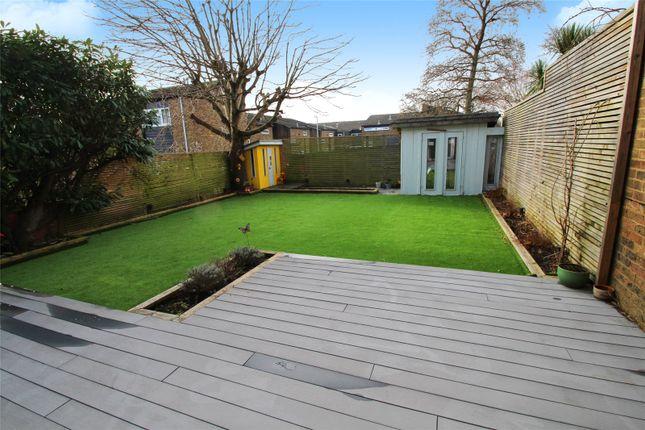 Rear Garden of Rowfield, Edenbridge TN8