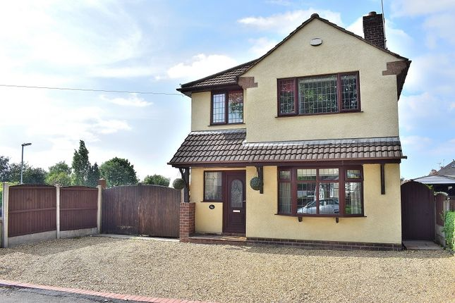Thumbnail Detached house for sale in Lower Milehouse Lane, Milehouse, Newcastle.