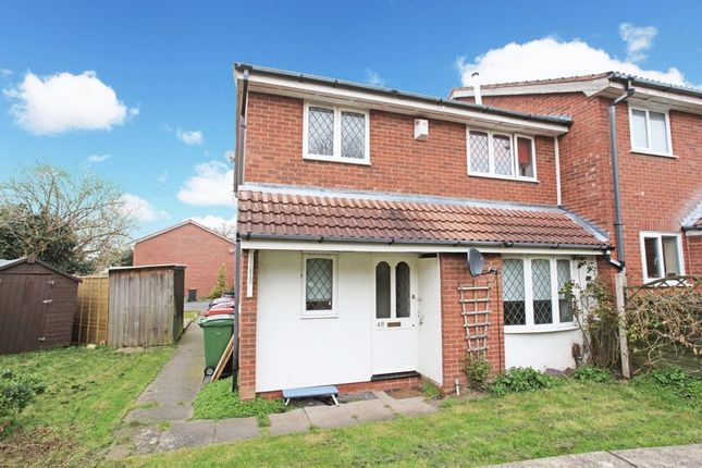 Thumbnail Terraced house to rent in Marlborough Way, Telford