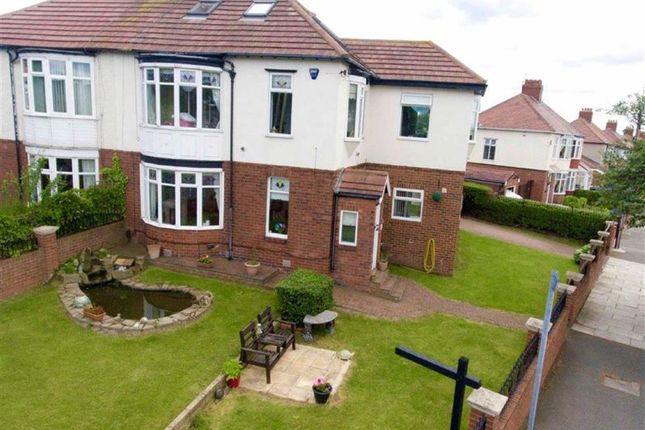 Thumbnail Semi-detached house for sale in King George Road, South Shields, South Shields