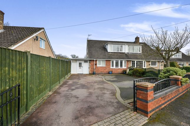 Thumbnail Semi-detached house for sale in Robey Drive, Eastwood, Nottingham