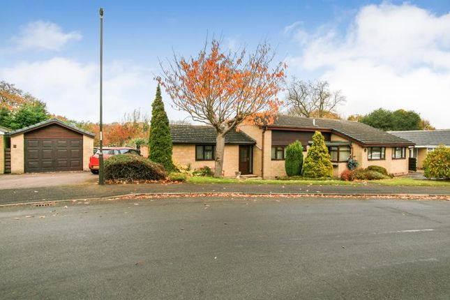Thumbnail Bungalow for sale in Parkside, Coniston Road, Dronfield Woodhouse, Derbyshire
