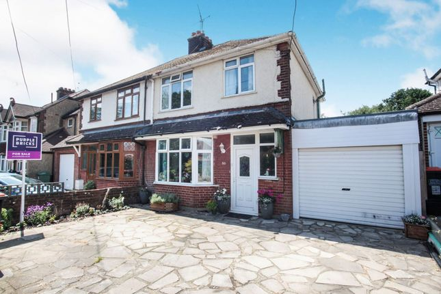 Thumbnail Semi-detached house for sale in Chaul End Road, Caddington