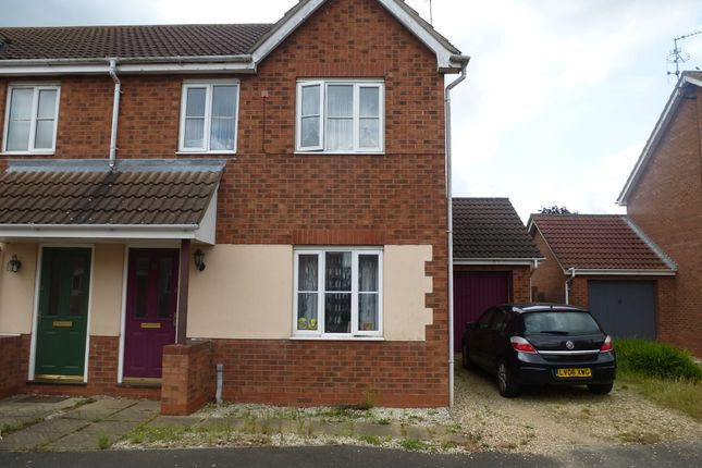 Thumbnail Semi-detached house for sale in Wintergold Avenue, Spalding