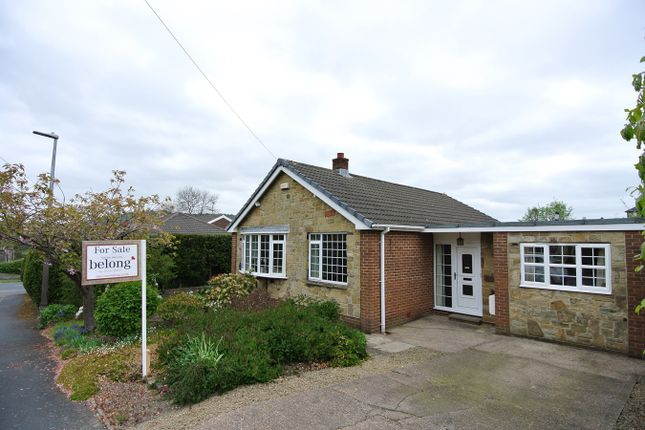 Thumbnail Detached bungalow for sale in Rosegarth Avenue, Wooldale, Holmfirth