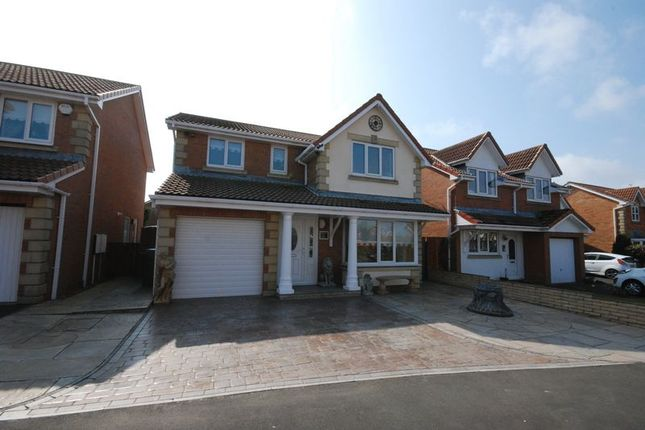 Thumbnail Detached house for sale in Hambleton Court, Ashington