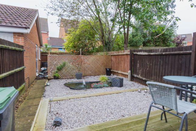 Rear Garden of Lodge Way, Irthlingborough, Wellingborough NN9