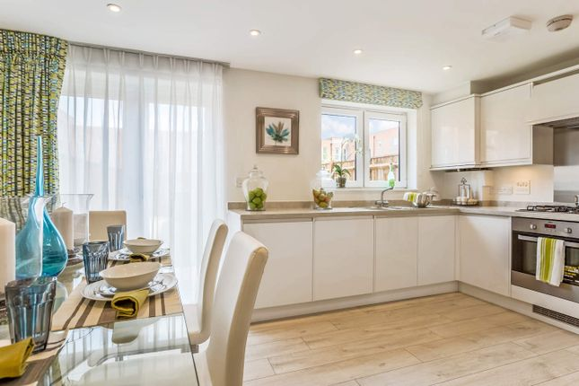 Thumbnail Terraced house for sale in Plot 8, Meridian Waterside, Southampton