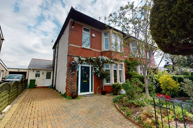 Thumbnail Semi-detached house for sale in Greenfield Road, Cardiff