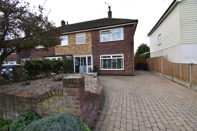 Thumbnail Semi-detached house for sale in Kreswell Grove, Dovercourt, Harwich