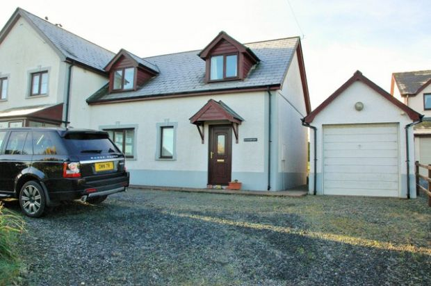 Thumbnail Semi-detached house to rent in Parcllyn, Cardigan, Ceredigion