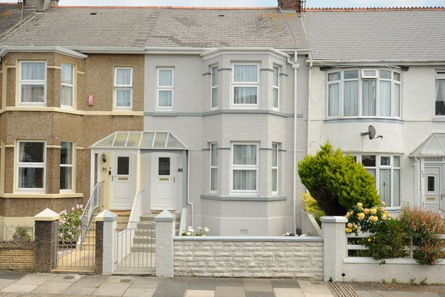 Thumbnail Terraced house for sale in Ridge Park Ave, Plymouth, Devon