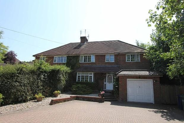 Thumbnail Semi-detached house to rent in Belle Vue, Vache Lane, Chalfont St Giles, Buckinghamshire