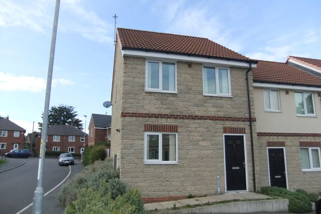 Thumbnail Town house to rent in Leslie Road, Barnsley